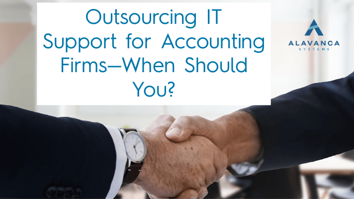 outsourcing It Support for accounting firms